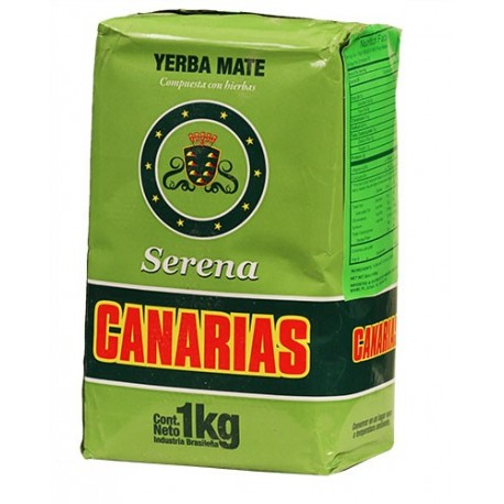 Yerba Mate Serena Canarias Serena 1 Kilo