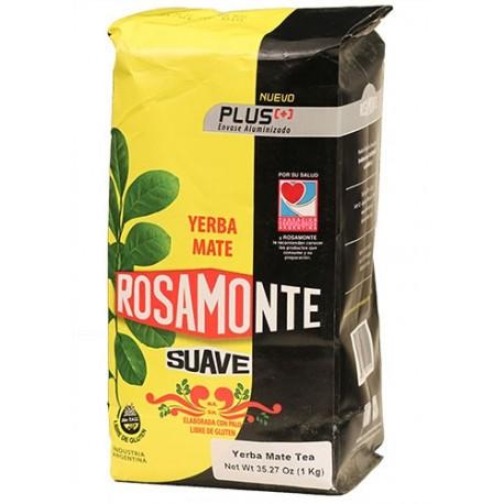 Yerba Mate Rosamonte Suave 1 Kg