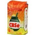 Yerba Mate Cbse Naranja  500 Gr