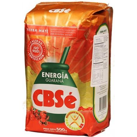 Yerba Mate Energia Guarana Cbse 500 Gramos