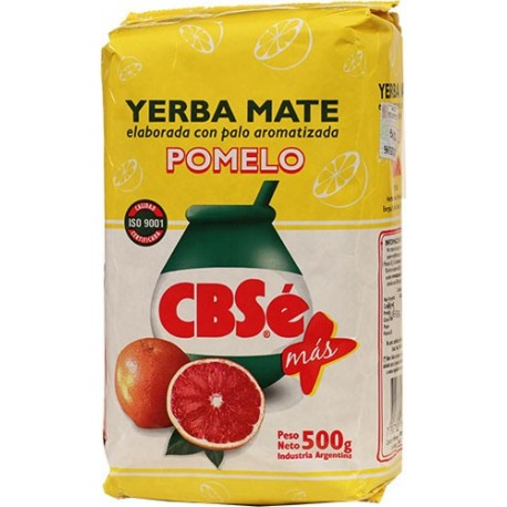 Yerba Mate Cbse Pomelo 500 Gr