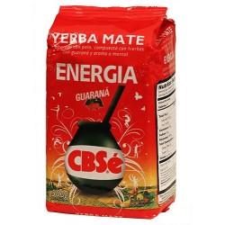 Yerba Mate Cbse Energia Guarana 500 Gr