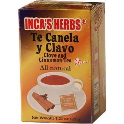 Te Canela Y Clavo Inca'S 25 Und