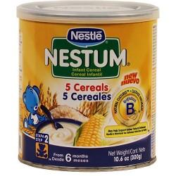 Nestum 5 Cereales Nestle 10.6 Onzas