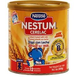 Nestum Trigo Con Leche  Nestle 14.1 Onzas