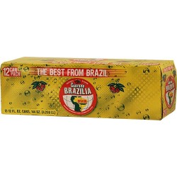 Guarana Brazilia 12 Pack-12 Onzas