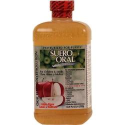Suero Oral  Manzana 33.8 Onzas
