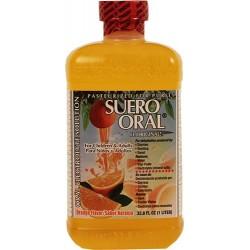 Suero Oral Naranja 33.8 Onzas