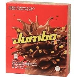 Chocolatinas Jumbo Mani 12 Unidades