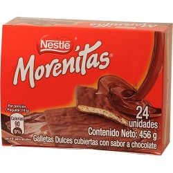 Nestle Morenitas Caja 24 Unidades