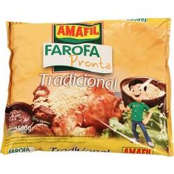 Farofa Pronta Tradicional 500 Gr