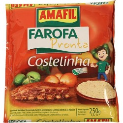 Farofa Pronta Costelinha Amafil 250 Gr