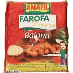 Farofa Pronta Baiana Amafil 250 Gr