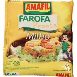 Farofa Pronta Milho Amafil 250 Gr