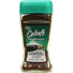 Colcafe Instantaneo Descafeinado 3.52 Onzas