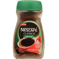 Nescafe Clasico Descafeinado 3.5 Oz