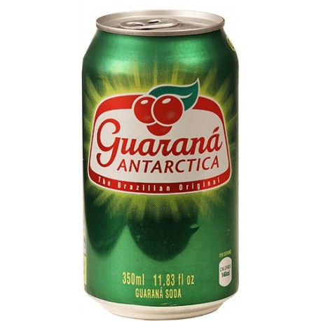 Guarana Antarctica Lata 355 Ml