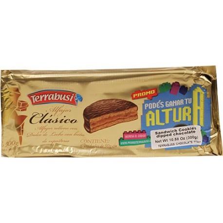 Alfajores Terrabusi Clasicos Chocolate 10.58 Oz
