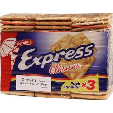 Galleta Express Terrabusi 11.43 Oz
