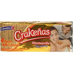 Galleta Crakeña Mantequilla 300 Gr