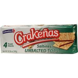 Galletas Crakeñas Sin Sal  Colombina 300 Gr