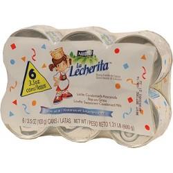 La Lechera Mini Nestle 6 X 3.5 Onzas