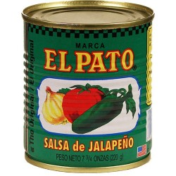 Jalapeno Salsa El Pato 7.75 Ounces