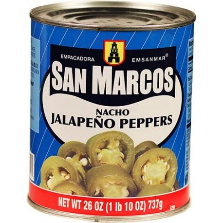 Nacho Jalapenos San Marcos 26 Ounces