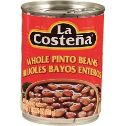 Whole Pinto Beans La Costeña 19 Ounces