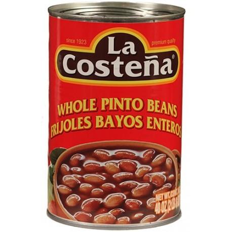 Whole Pinto Beans La Costeña 40 Ounces