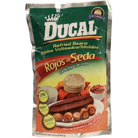 Red Refried Beans Ducal Doy-Pack 28 Ounces