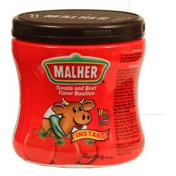 Tomato and Beef Boulion Malher 16 Ounces