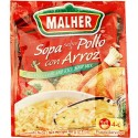 Chicken Flavor and Rice Soup Mix Malher 2.1 Ounces