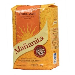 Yerba Mate Mananitas 1 Kilo