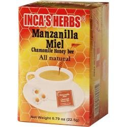 Te Manzanilla Y Miel Inca'S X 25 22.5 Gr