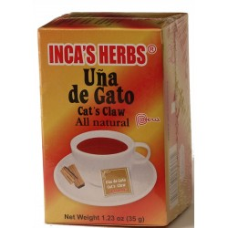 Te Uña De Gato Inca'S X 25 Bol