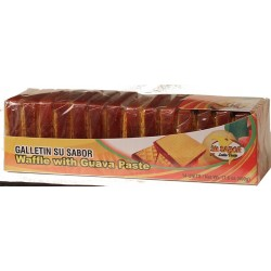 Galletin Guava Wafer Su Sabor 17.6 Onzas