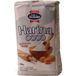 Harina Trigo 0000 Acacias 1 Kilo