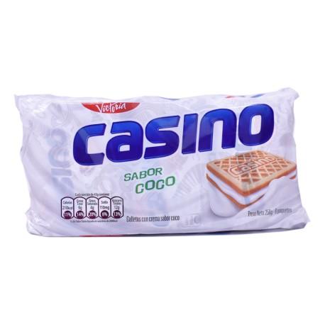 Galletas con crema CASINO sabor a Coco