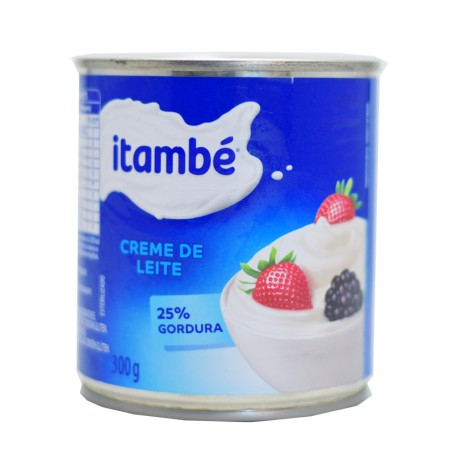 Crema De Leche Itambe 300 Gr