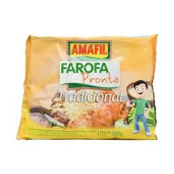 Farofa Pronta Tradicional AMAFIL