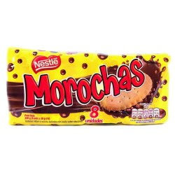 Morochas Galletas sabor a Vainilla con Chocolate