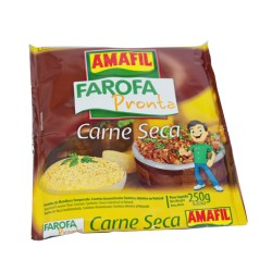 Faroja Pronta Carne Seca AMAFIL