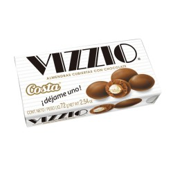 VIZZIO Almendras cubiertas con Chocolate
