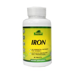 Iron Hierro Vitaminas ALFA