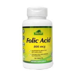 Ácido fólico Vitaminas ALFA