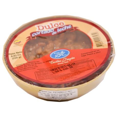 Dulce Cortado de Leche, 450g. Dulces del Valle