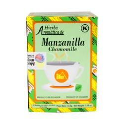 Té Manzanilla, Hierbas Aromaticas 25s