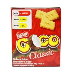 Galletas COCO Classic de Nestle