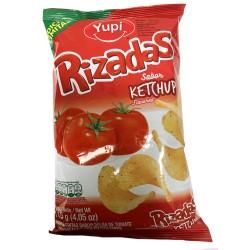Rizadas sabor a Ketchup YUPI